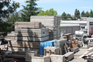 Cumming Construction yard