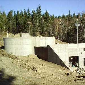 WTP Concrete structure